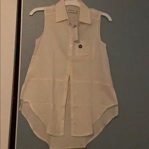 Girls button up blouse